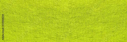 Fotografiet Bright yellow woven thread texture pattern