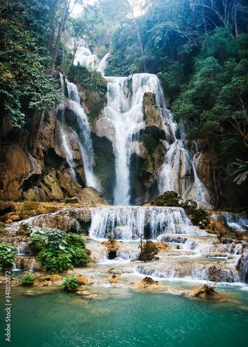 Kuang Si Falls, Luang Prabang, Loas, Southeast Asia - 341810072