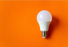 White Energy Saving Light Bulb...