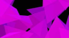 8K UHD Abstract Triangle Background