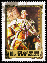 Postage Stamp Printed In Korea...