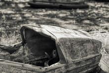 Old Rusty Car  Tjernobyl Abandon