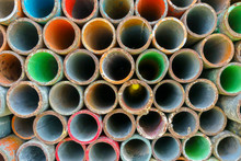 Stacking Of Scaffold Tubes Wit...