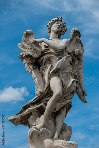 Statue of angel in Rome