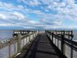 pier to blue sky