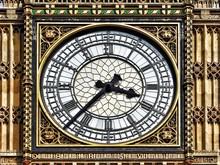 Close-up Of Big Ben Clock Face