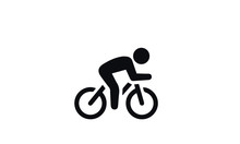 Fitness Icon Vector Design Bla...