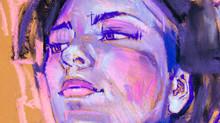 Female Portrait, Pencil Drawin...