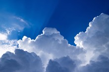 Low Angle View Of Cloudscape A...
