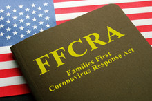 USA Flag And Families First Co...