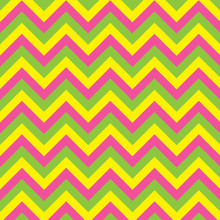 Yellow Green And Pink Colorful...
