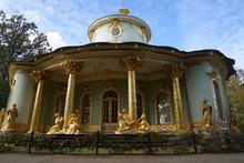 Schloss Sanssouci, Potsdam, Park, Landschaft, Hintergrund, Sanssouci Palace, Potsdam, Park, Landscape, Background,