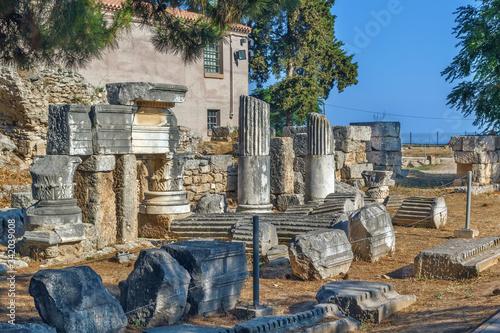 Fototapeta Ruins of Ancient Corinth, Greece
