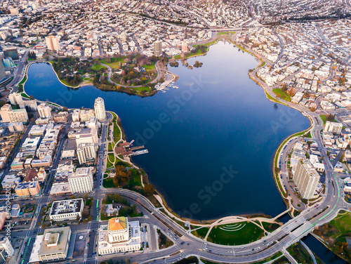 Obraz Lake Merritt, Oakland, California - fototapety do salonu