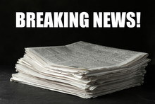Phrase Breaking News And Stack...