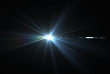 Bright Beam Of A Searchlight O...
