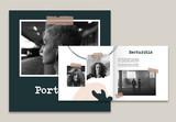 Organic Portfolio Layout - 342073695