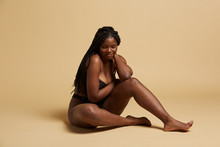 Curvy Beautiful African Americ...