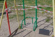 Children's Swing With Wooden S...