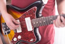 Playing A Fender Jazzmaster El...