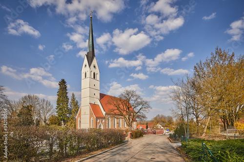 Kirche, Pfarrkirche, St Fotobehang