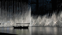 The Dancing Fountain In Dubai....