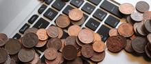 Centesimi Di Euro Sulla Tastie...