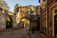 Turret Gate In Leicester Castle