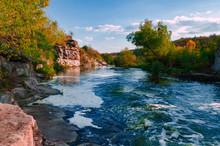 The River Gorny Tikic Flows Am...