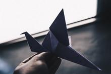 Close-up Of Origami Bird