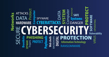 Cybersecurity Word Cloud On A ...