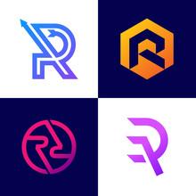 R Logo Sets A Unique Font Styl...