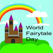 World Fairytale Day.  Beauty Fairyland