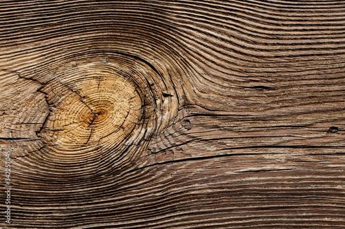 Obraz Stary drewniany dom, fragment ściany - fototapety do salonu