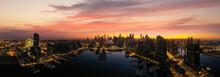 Landscape Of Melbourne City Ov...