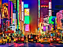 New York City USA Artistic Pai...