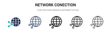 Network Conection Icon In Fill...