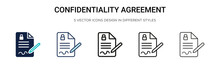 Confidentiality Agreement Icon...