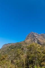 Mountain of Doi Luang Chiang Dao natural park Landscape, Chiang Mai, Thailand.
