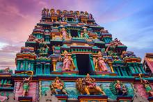"""Mariamman Hindu Temple Or """"Chu"""