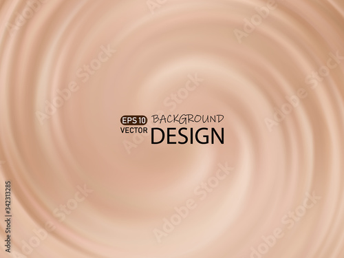 Vector abstract background color of cappuccino Canvas-taulu