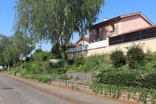 La Rue Centrale à Corbas - Village De Corbas - Département Du Rhône - France