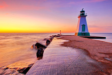 Port Dalhousie Lighthouse In St. Catharines