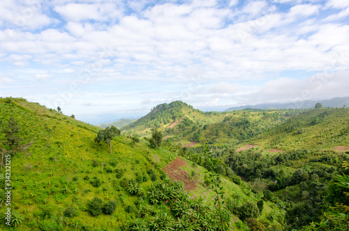 Scenic View Of Landscape Against Sky #342321215