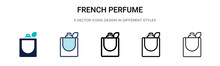 French Perfume Icon In Filled,...