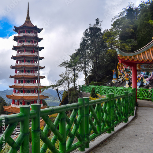Valokuvatapetti The Chin Swee Caves Temple is a Taoist temple in Genting Highlands, Pahang, Mala