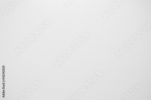 Fotografiet White Woven Fabric Texture Background.