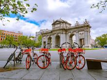 Madrid / Spain-04/19/20 Bicycl...