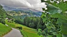 Naturlandschaft In Mitten Der Bayerischen Berge