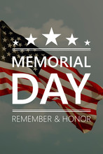 USA Memorial Day, Remember And...